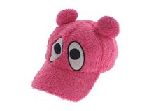 凯维帽业-儿童 女士纯色可爱卡通动物绣花鸭舌帽RH270