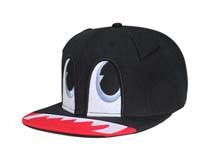 凯维帽业-超可爱儿童卡通平沿帽 嘻哈帽 RJ465