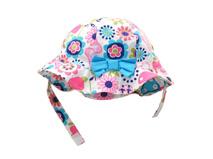 凯维帽业-儿童蝴蝶结遮阳帽 边帽定做RM091