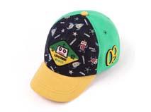 黑白视频体育直播-儿童卡通太空棒球帽定做RM096