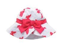 凯维帽业-新款儿童大蝴蝶结边帽 小清新款定做RM099