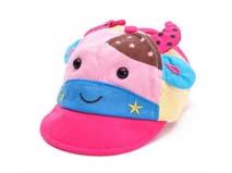 凯维帽业-儿童撞色拼接可爱奶牛棒球帽定做