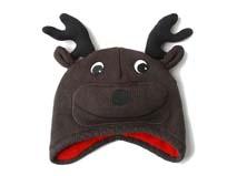 凯维帽业-儿童卡通鹿针织帽定做