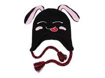 凯维帽业-小兔子儿童风雪帽订做