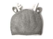 凯维帽业-针织可爱小鹿角儿童帽定做
