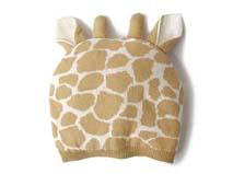凯维帽业-儿童长颈鹿可爱针织帽定做