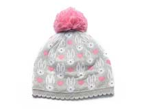凯维帽业-小兔子儿童针织帽定做RM157