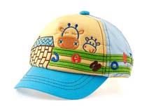凯维帽业-儿童五页绣花棒球帽订做RM159