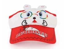 凯维帽业-可爱兔子儿童空顶帽定做RM163