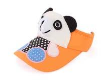 凯维帽业-儿童小熊可爱空顶帽定做RM164