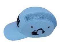 黑白视频体育直播-新款简约绣花防撞头盔帽 TD012