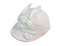 凯维帽业-儿童 婴儿可爱兔子棒球帽定做RM169