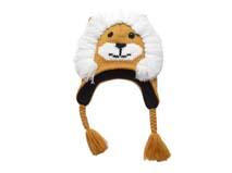 凯维帽业-儿童卡通狮子针织帽定做RM180