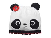 凯维帽业-儿童熊猫针织帽定做 RM193