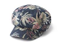 凯维帽业-韩版时尚潮流女士印花时装帽