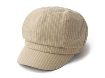 凯维帽业-简约条纹时装帽 瓜帽广州工厂专业加工定做