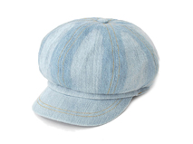 凯维帽业-简约做旧时尚潮流牛仔女士时装帽