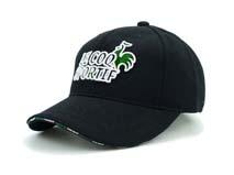凯维帽业-绣花字母六页棒球帽专业加工订制BM196