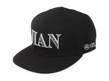 凯维帽业-韩版简约黑色3D绣花 嘻哈街舞帽-PM224