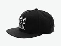 凯维帽业-韩版新款贴布绣花 嘻哈街舞帽 -PM225
