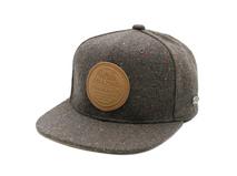 凯维帽业-男士简约单色运动平板帽PM237