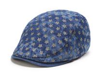 凯维帽业-新款女士星星印花急帽 鸭舌帽EM062