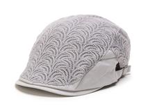 凯维帽业-网眼雷瑟拼接女士时尚潮流时装鸭舌帽EM063