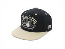 凯维帽业-天鹅样式双色拼接  户外运动平板帽PM241