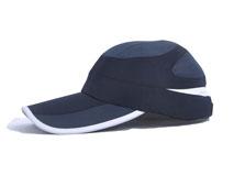 凯维帽业-户外运动新款上市 单色简约网布拼接 HM045