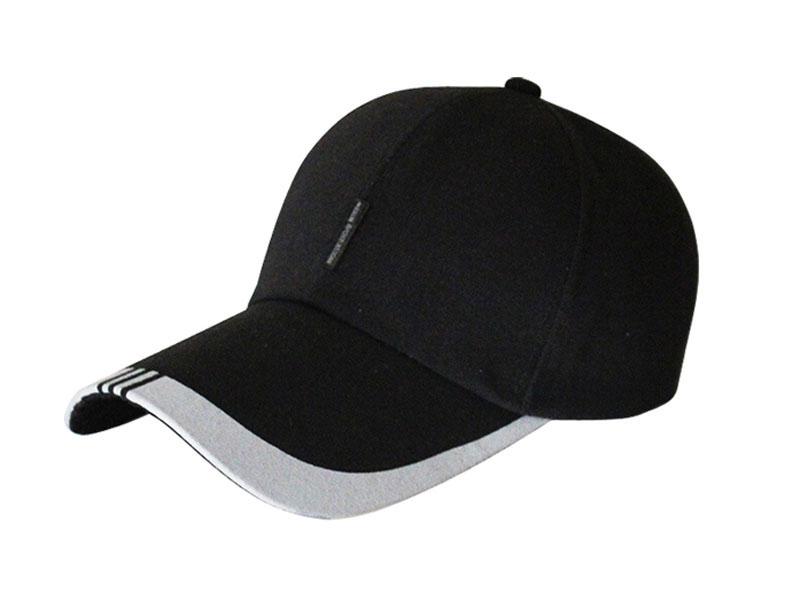 凯维帽业-男士单色防晒运动款 棒球帽 HM046
