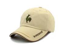 凯维帽业-高端公鸡绣花LOGO户外遮阳棒球帽BM204