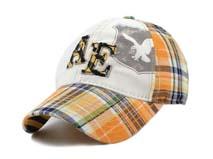 凯维帽业-贴布绣花字母六页棒球帽BM203