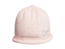 凯维帽业-新款点点儿童 婴儿秋冬保暖套头针织帽AM053
