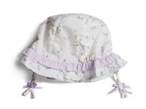 凯维帽业-可爱小辫子婴儿小边帽 AM055