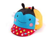 凯维帽业-小蜜蜂可爱卡通五页鸭舌帽AM060