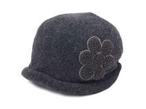 黑白视频体育直播-女士秋冬保暖羊毛时装帽 SW029