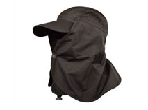 凯维帽业-2015新款遮风防蚊 单色棒球帽 YD018
