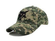 凯维帽业-小方块格子迷彩六页绣花LOGO迷彩棒球帽BM225