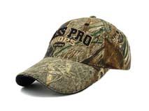 凯维帽业-3D绣花字母LOGO迷彩帽BM236
