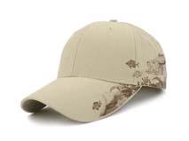 凯维帽业-米白色六页棒球帽订制定做 广州帽厂 BM240