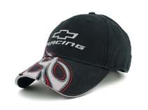 黑白视频体育直播-黑色绣花字母棒球帽 BM248