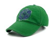 凯维帽业-绿色简约印花六页鸭舌帽BM263