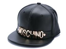 凯维帽业-新款简约 字母贴边  皮质平板帽PP187