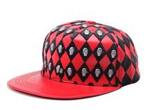 凯维帽业-柳钉 骷颅头 时尚韩版新款 皮质平板帽 PP189