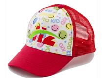 凯维帽业-儿童拼接点式棒球帽 RJ483