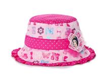 凯维帽业-女孩撞色拼接白雪公主可爱遮阳帽RM208