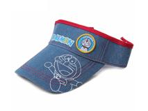 凯维帽业-儿童简约牛仔空顶帽定做rm210