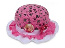 凯维帽业-儿童折边芭比娃娃可爱边帽定做RM214