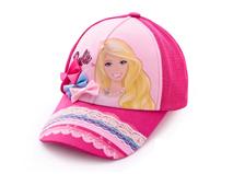 凯维帽业-女孩蕾丝拼接可爱棒球帽定做RM218