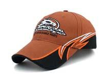 凯维帽业-新款绣花遮阳帽 六页棒球帽加工BM272